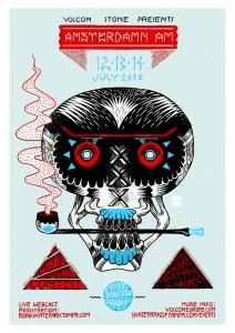 Lennard Schuurmans Skate Poster Volcom A3