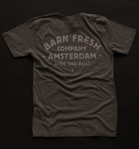 Lennard Schuurmans - Barn fresh - Ride The Dust - Charcoil- Back